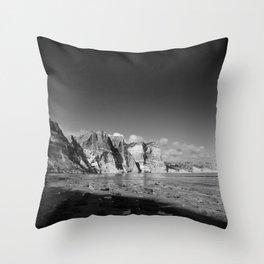 Seeing time Throw Pillow
