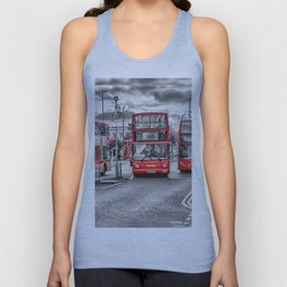 London Red Buses Unisex Tank Top