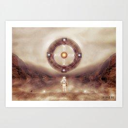 Poster - New gods Art Print