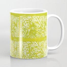 Leaves in Lime Coffee Mug