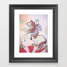Mint King Framed Art Print