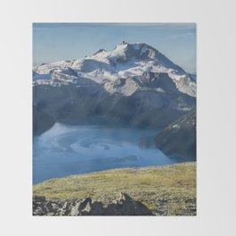Garibaldi Lake Throw Blanket