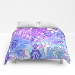 spring floral batik Comforters