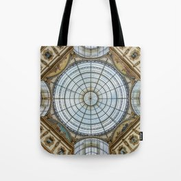 Ceiling of the Galleria Vittorio Emanuele II, Milan Tote Bag