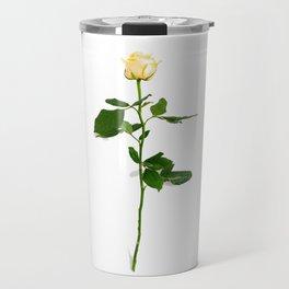 Yellow Rose (Color) Travel Mug