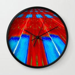Horizon Field Wall Clock