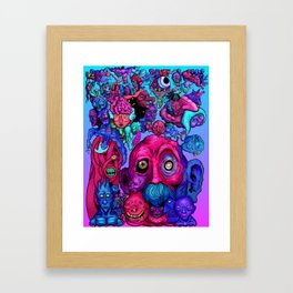 Mind of a thousand Thoughts Framed Art Print