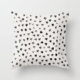 Polka Splotch Throw Pillow