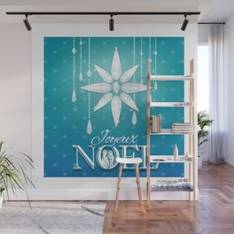 Joyeux Noel Wall Mural