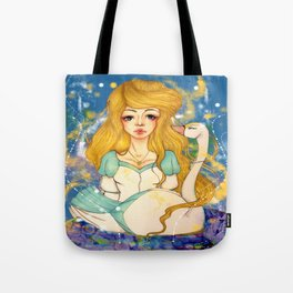 The Swan Princess Tote Bag