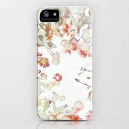 Ethereal Pastel Summer Garden iPhone Case