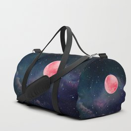 Pink Moon Duffle Bag