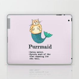 Purrmaid Laptop & iPad Skin