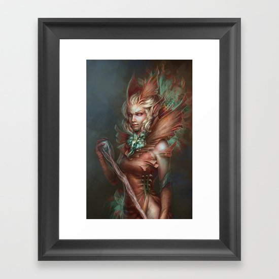 The Sibyl Framed Art Print