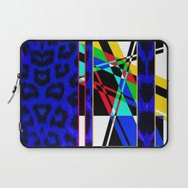 Leopard Mix - Blue Laptop Sleeve