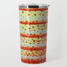 Horizontal Bars Travel Mug