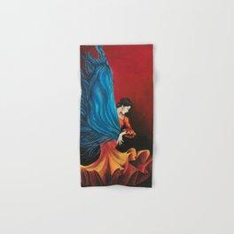 Spanish Flamenco Dancer Hand & Bath Towel