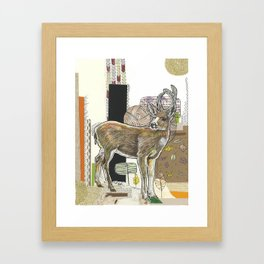 As the Deer Framed Art Print