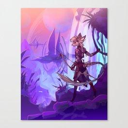Liquescence Poster Canvas Print