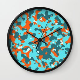 Abstract Organic pattern 11 Wall Clock