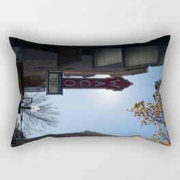 Downtown Waco Rectangular Pillow
