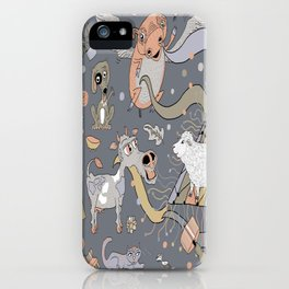 modern farmhouse style accessories, stuff you need! iPhone Case