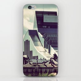 The new building of the Nation Library of Latvia in Riga iPhone Skin