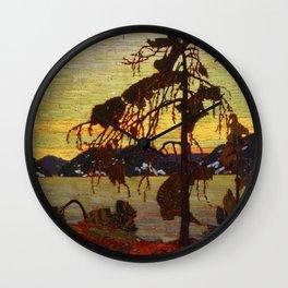 Tom Thomson - The Jack Pine Wall Clock