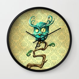 Whoo Dis Wall Clock