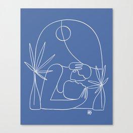 Dreamers no.4 (classic blue) Canvas Print