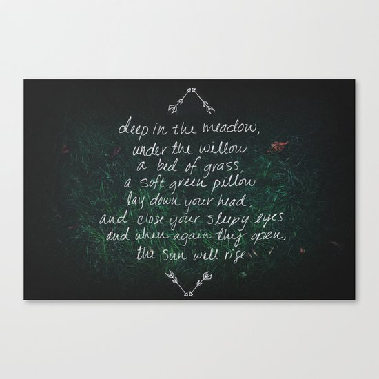 Rue's Song Canvas Print