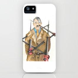 Never Again iPhone Case