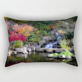 Kyoto Garden, Holland Park, London Rectangular Pillow