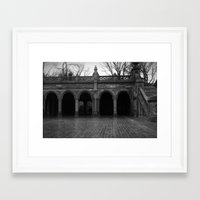 central park Framed Art Prints featuring central park by Angel Photography NYC (Nicole Coletti)