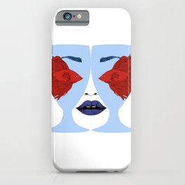 Fisheyes iPhone Case