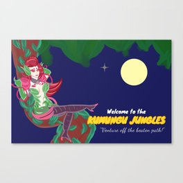 Welcome to the Kumungu Jungles - League of Legends Wall Art Canvas Print