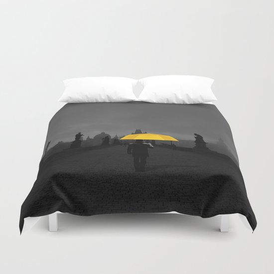 Hope in the dark Duvet Cover