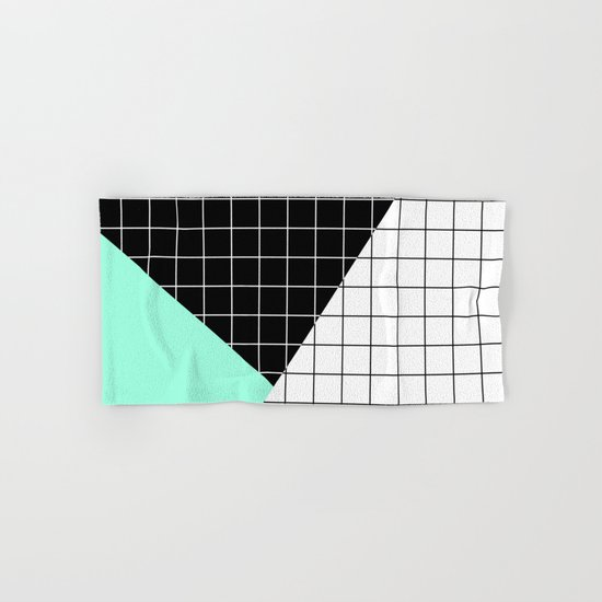 Minimal Geometry II Hand & Bath Towel