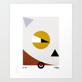 PKMNML #104 CU BONE Art Print