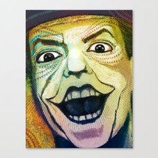 Joker Old Canvas Print