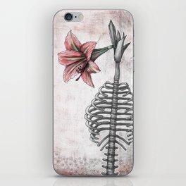 Amaryllis Brasiliensis iPhone Skin