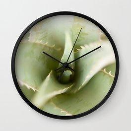aloe vera Wall Clock