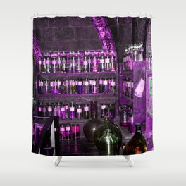 Potion Class - Purple Hues Shower Curtain