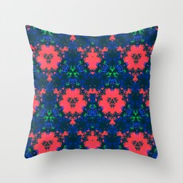 Bonnets & Coral Throw Pillow