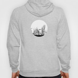 The big bird in the dry trees Hoody