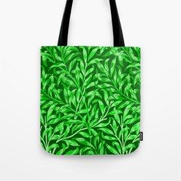 William Morris Willow Bough, Emerald Green Tote Bag