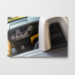 BMW Z4 sDrive20i Pure Impulse Inside Metal Print