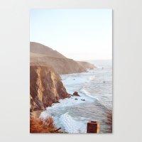 big sur Canvas Prints featuring Big Sur by David Ray