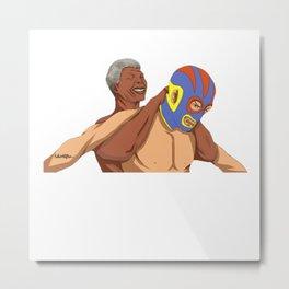 Full Nelson Mandela Metal Print