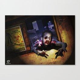 Z Attack! Canvas Print